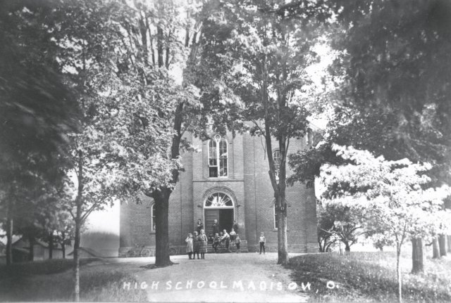 Madison Village School on Main Street, 1867-1927Madison Village School on Main Street, 1867-1927Madison Village School on Main Street, 1867-1927